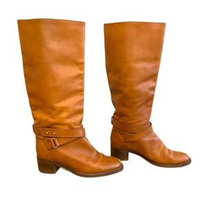 J. Crew Parker Leather Tan/Brown Riding Boot